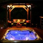 make your backyard amazing with a hot tub